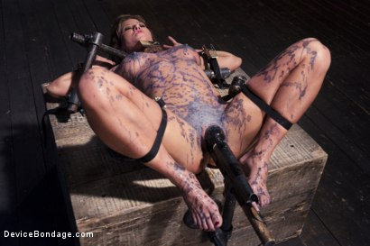 Photo number 2 from The Ultimate Surrender!!! shot for Device Bondage on Kink.com. Featuring Orlando and Ariel X in hardcore BDSM & Fetish porn.
