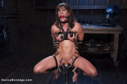 Photo number 3 from The Ultimate Surrender!!! shot for Device Bondage on Kink.com. Featuring Orlando and Ariel X in hardcore BDSM & Fetish porn.