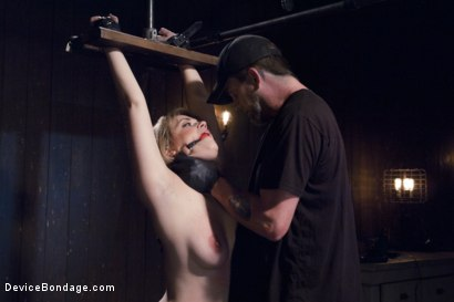 Photo number 3 from Cunt Punisher shot for Device Bondage on Kink.com. Featuring Winnie Rider in hardcore BDSM & Fetish porn.