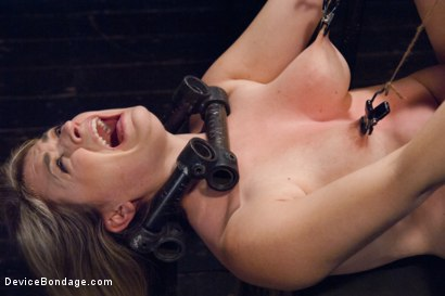Photo number 4 from Cunt Punisher shot for Device Bondage on Kink.com. Featuring Winnie Rider in hardcore BDSM & Fetish porn.