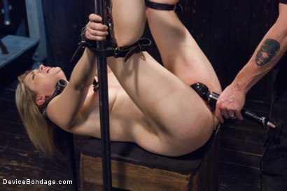 Photo number 7 from Cunt Punisher shot for Device Bondage on Kink.com. Featuring Winnie Rider in hardcore BDSM & Fetish porn.