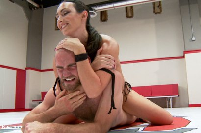 Photo number 10 from Wenona And Ariel X as you've never seen them before 100% competitve mixed wrestling shot for Kink Test Shoots on Kink.com. Featuring Mona Wales, Jonah Marx, Wenona and Ariel X in hardcore BDSM & Fetish porn.