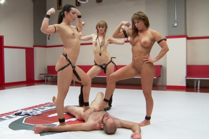 Photo number 13 from Wenona And Ariel X as you've never seen them before 100% competitve mixed wrestling shot for Kink Test Shoots on Kink.com. Featuring Mona Wales, Jonah Marx, Wenona and Ariel X in hardcore BDSM & Fetish porn.