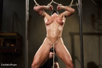 Photo number 15 from Ariel X Will Submit shot for Sadistic Rope on Kink.com. Featuring Ariel X in hardcore BDSM & Fetish porn.