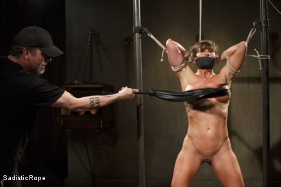 Photo number 11 from Ariel X Will Submit shot for Sadistic Rope on Kink.com. Featuring Ariel X in hardcore BDSM & Fetish porn.