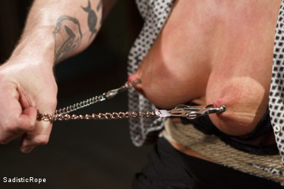 Photo number 7 from Ariel X Will Submit shot for Sadistic Rope on Kink.com. Featuring Ariel X in hardcore BDSM & Fetish porn.