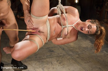 Photo number 1 from Squirting Bondage Sex!! shot for Brutal Sessions on Kink.com. Featuring Derrick Pierce and Savannah Fox in hardcore BDSM & Fetish porn.