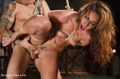 Photo number 13 from Squirting Bondage Sex!! shot for Brutal Sessions on Kink.com. Featuring Derrick Pierce and Savannah Fox in hardcore BDSM & Fetish porn.