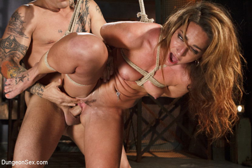 Pain slut in extreme bondage with brutal pain domination 10