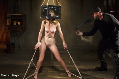 Photo number 1 from Mona Wales Punished!! shot for Sadistic Rope on Kink.com. Featuring Mona Wales in hardcore BDSM & Fetish porn.