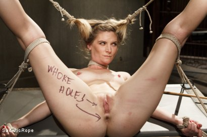 Photo number 3 from Mona Wales Punished!! shot for Sadistic Rope on Kink.com. Featuring Mona Wales in hardcore BDSM & Fetish porn.