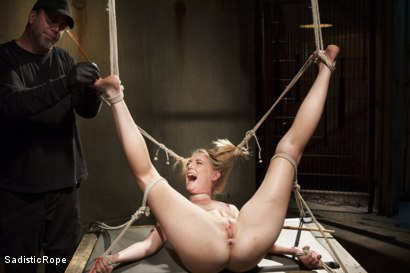 Photo number 6 from Mona Wales Punished!! shot for Sadistic Rope on Kink.com. Featuring Mona Wales in hardcore BDSM & Fetish porn.