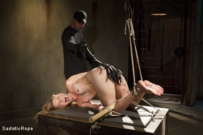 Photo number 7 from Mona Wales Punished!! shot for Sadistic Rope on Kink.com. Featuring Mona Wales in hardcore BDSM & Fetish porn.