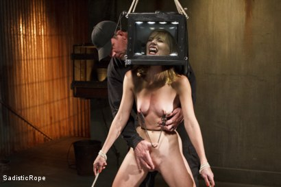 Photo number 9 from Mona Wales Punished!! shot for Sadistic Rope on Kink.com. Featuring Mona Wales in hardcore BDSM & Fetish porn.