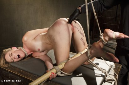Photo number 12 from Mona Wales Punished!! shot for Sadistic Rope on Kink.com. Featuring Mona Wales in hardcore BDSM & Fetish porn.