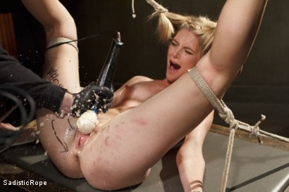 Photo number 4 from Mona Wales Punished!! shot for Sadistic Rope on Kink.com. Featuring Mona Wales in hardcore BDSM & Fetish porn.
