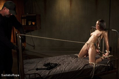 Photo number 9 from Taking One for the Team shot for Sadistic Rope on Kink.com. Featuring Gabriella Paltrova in hardcore BDSM & Fetish porn.