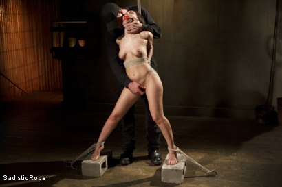 Photo number 12 from Taking One for the Team shot for Sadistic Rope on Kink.com. Featuring Gabriella Paltrova in hardcore BDSM & Fetish porn.