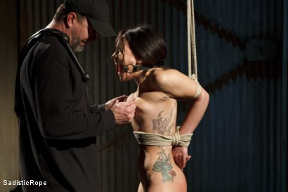 Photo number 13 from Taking One for the Team shot for Sadistic Rope on Kink.com. Featuring Gabriella Paltrova in hardcore BDSM & Fetish porn.