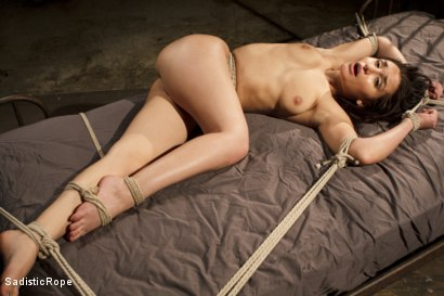 Photo number 2 from Taking One for the Team shot for Sadistic Rope on Kink.com. Featuring Gabriella Paltrova in hardcore BDSM & Fetish porn.