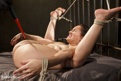Photo number 6 from Taking One for the Team shot for Sadistic Rope on Kink.com. Featuring Gabriella Paltrova in hardcore BDSM & Fetish porn.