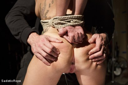 Photo number 14 from Taking One for the Team shot for Sadistic Rope on Kink.com. Featuring Gabriella Paltrova in hardcore BDSM & Fetish porn.