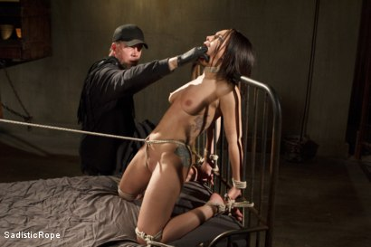 Photo number 1 from Taking One for the Team shot for Sadistic Rope on Kink.com. Featuring Gabriella Paltrova in hardcore BDSM & Fetish porn.