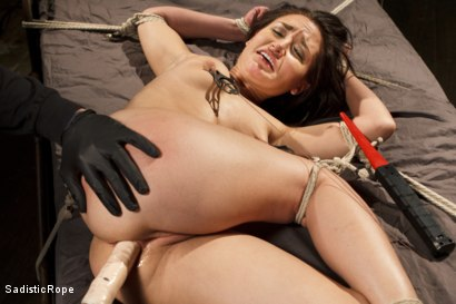 Photo number 8 from Taking One for the Team shot for Sadistic Rope on Kink.com. Featuring Gabriella Paltrova in hardcore BDSM & Fetish porn.