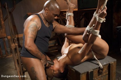 Photo number 4 from Hard and Fast shot for Dungeon Sex on Kink.com. Featuring Lotus Lain and Jack Hammer in hardcore BDSM & Fetish porn.