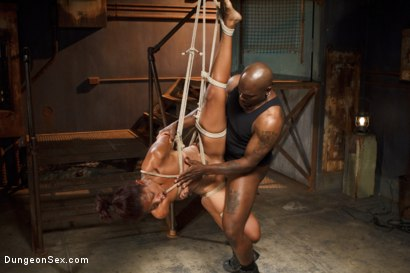 Photo number 8 from Hard and Fast shot for Dungeon Sex on Kink.com. Featuring Lotus Lain and Jack Hammer in hardcore BDSM & Fetish porn.