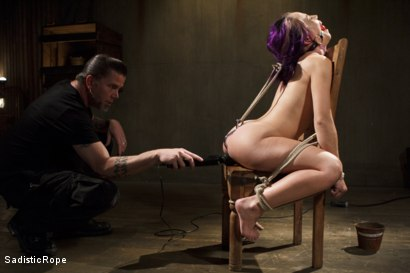 Photo number 10 from Day of Reckoning  shot for Sadistic Rope on Kink.com. Featuring Kristina Rose in hardcore BDSM & Fetish porn.