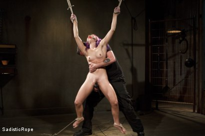 Photo number 1 from Day of Reckoning  shot for Sadistic Rope on Kink.com. Featuring Kristina Rose in hardcore BDSM & Fetish porn.