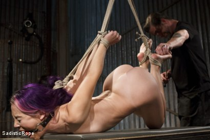 Photo number 5 from Day of Reckoning  shot for Sadistic Rope on Kink.com. Featuring Kristina Rose in hardcore BDSM & Fetish porn.