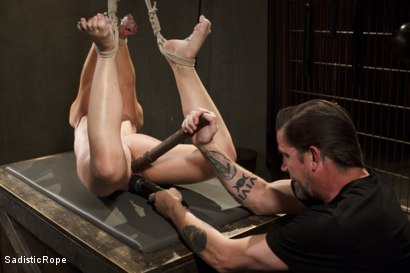 Photo number 6 from Day of Reckoning  shot for Sadistic Rope on Kink.com. Featuring Kristina Rose in hardcore BDSM & Fetish porn.