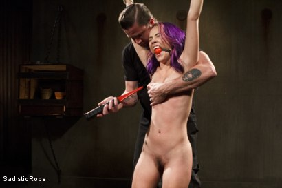 Photo number 8 from Day of Reckoning  shot for Sadistic Rope on Kink.com. Featuring Kristina Rose in hardcore BDSM & Fetish porn.