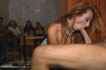 Photo number 12 from Gorgeous spanish model Bianca Resa is bound in Madrid shot for Public Disgrace on Kink.com. Featuring Rob Diesel, Steve Holmes and Bianca Resa in hardcore BDSM & Fetish porn.