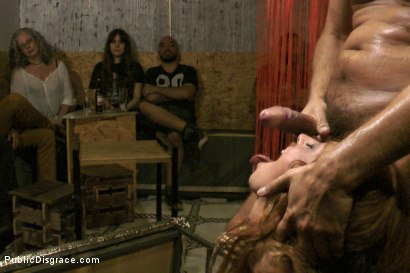 Photo number 14 from Gorgeous spanish model Bianca Resa is bound in Madrid shot for Public Disgrace on Kink.com. Featuring Rob Diesel, Steve Holmes and Bianca Resa in hardcore BDSM & Fetish porn.