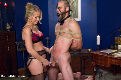 Photo number 14 from Simone Sonay is Mrs. S: ULTIMATE MILF Femdom! shot for Divine Bitches on Kink.com. Featuring Jonah Marx and Simone Sonay in hardcore BDSM & Fetish porn.