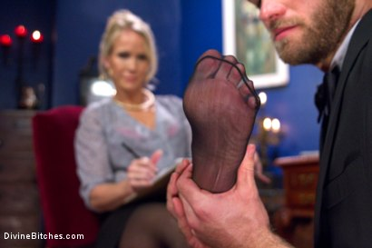 Photo number 11 from Simone Sonay is Mrs. S: ULTIMATE MILF Femdom! shot for Divine Bitches on Kink.com. Featuring Jonah Marx and Simone Sonay in hardcore BDSM & Fetish porn.