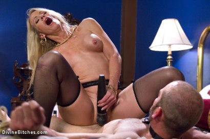 Photo number 9 from Simone Sonay is Mrs. S: ULTIMATE MILF Femdom! shot for Divine Bitches on Kink.com. Featuring Jonah Marx and Simone Sonay in hardcore BDSM & Fetish porn.