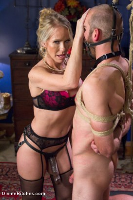 Photo number 10 from Simone Sonay is Mrs. S: ULTIMATE MILF Femdom! shot for Divine Bitches on Kink.com. Featuring Jonah Marx and Simone Sonay in hardcore BDSM & Fetish porn.