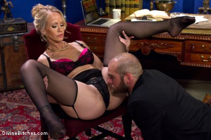 Photo number 3 from Simone Sonay is Mrs. S: ULTIMATE MILF Femdom! shot for Divine Bitches on Kink.com. Featuring Jonah Marx and Simone Sonay in hardcore BDSM & Fetish porn.