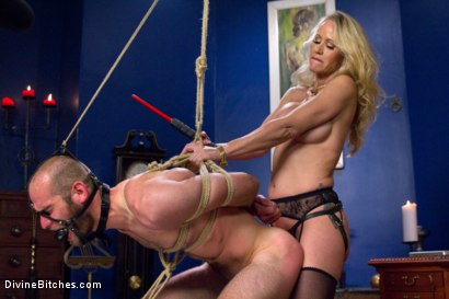 Photo number 5 from Simone Sonay is Mrs. S: ULTIMATE MILF Femdom! shot for Divine Bitches on Kink.com. Featuring Jonah Marx and Simone Sonay in hardcore BDSM & Fetish porn.