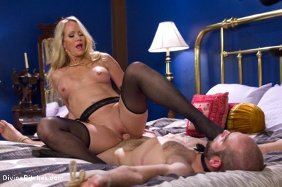 Photo number 6 from Simone Sonay is Mrs. S: ULTIMATE MILF Femdom! shot for Divine Bitches on Kink.com. Featuring Jonah Marx and Simone Sonay in hardcore BDSM & Fetish porn.