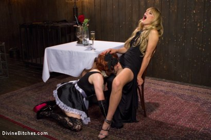 Photo number 10 from Deviant Tart shot for Divine Bitches on Kink.com. Featuring Mona Wales and Jay West in hardcore BDSM & Fetish porn.