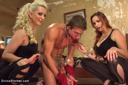 Photo number 14 from Hottest FemDom Sex Ever Filmed. shot for Divine Bitches on Kink.com. Featuring Bella Rossi, Cherry Torn and Alexander Gustavo in hardcore BDSM & Fetish porn.
