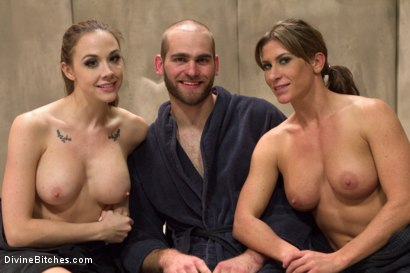 Photo number 1 from Women Rule The World shot for Divine Bitches on Kink.com. Featuring Chanel Preston, Ariel X and Jonah Marx in hardcore BDSM & Fetish porn.