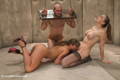 Photo number 3 from Women Rule The World shot for Divine Bitches on Kink.com. Featuring Chanel Preston, Ariel X and Jonah Marx in hardcore BDSM & Fetish porn.