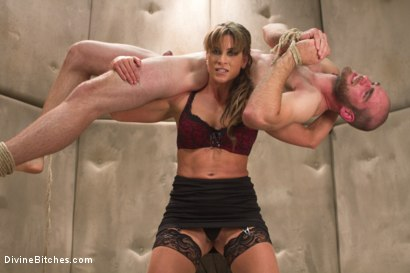 Photo number 9 from Women Rule The World shot for Divine Bitches on Kink.com. Featuring Chanel Preston, Ariel X and Jonah Marx in hardcore BDSM & Fetish porn.