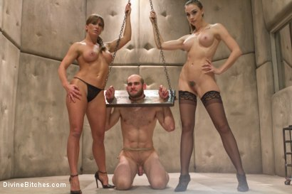 Photo number 2 from Women Rule The World shot for Divine Bitches on Kink.com. Featuring Chanel Preston, Ariel X and Jonah Marx in hardcore BDSM & Fetish porn.